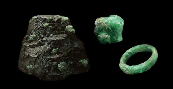 ArtStation - Mineral Assets , Betty Jiang