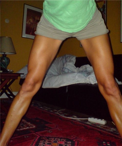 Strong legs are sexy legs
