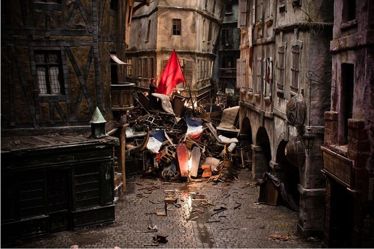 The Sets of Les Misérables. Architectural Digest, photos courtesy of Universal Pictures