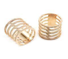Inel argint 925 rodiat cu rodiu roz , colectia Milano si pietre zirconia albe montura micropave.