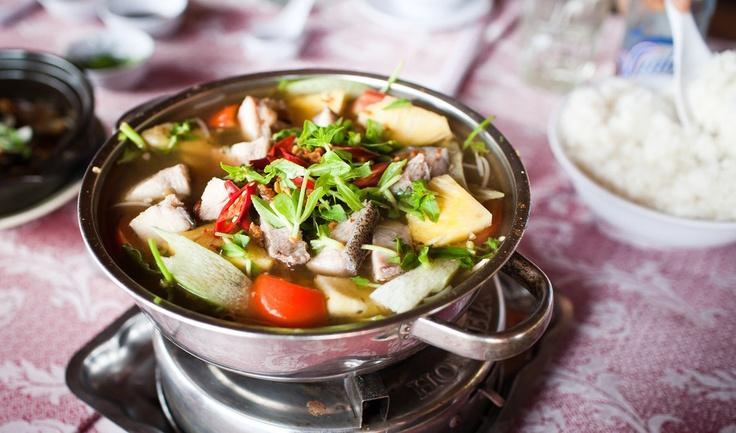 Vietnamese fish hot pot