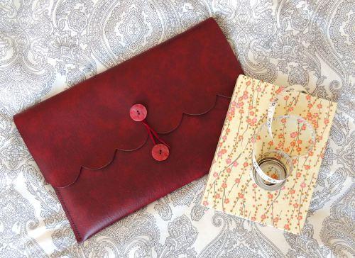 DIY leather look laptop case   Crafternoon Cabaret Club   http://crafternooncabaretclub.com/2016/03/28/diy-leather-look-tablet-case/