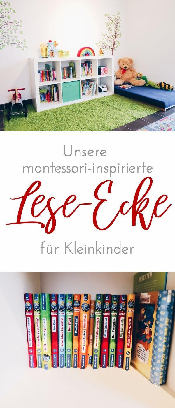 Montessori Montag: Die Leseecke