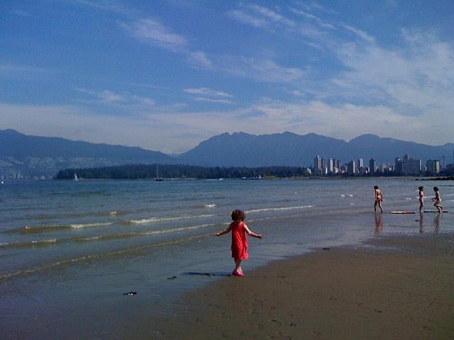 Kitsilano Beach - Vancouver, Canada