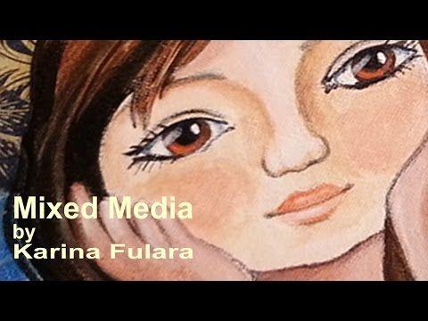 """Mixed Media: """"Listopadowa herbatka"""" / """"Novembertee"""" - YouTube"""