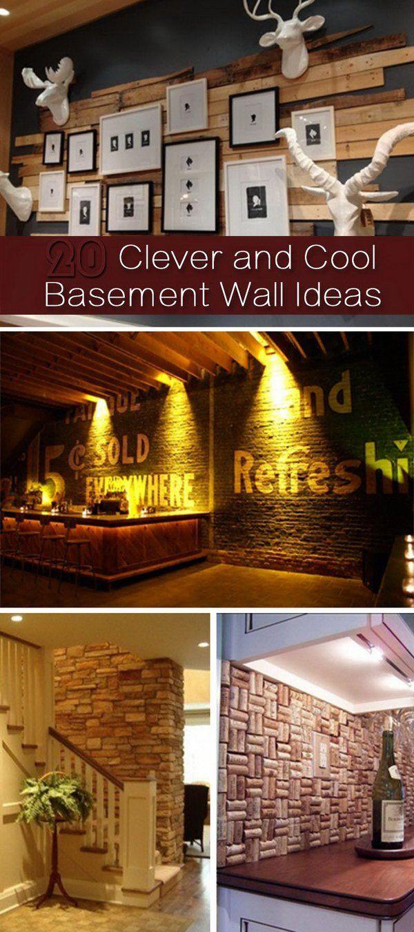 Ideas For Walls Best 25 Cool Basement Ideas Ideas On Pinterest  Sleepover Room