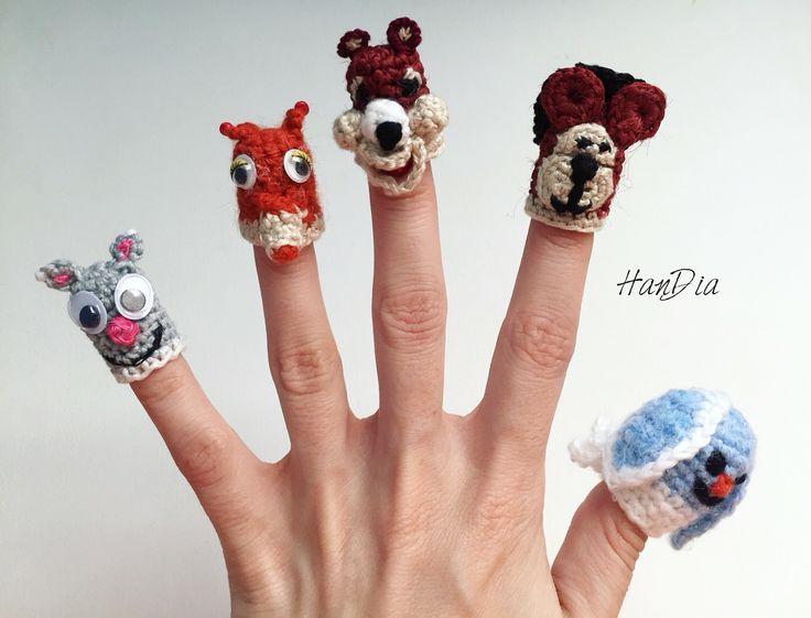 Degetele crosetate pentru joaca   | Crosetate Bucuresti 🦊🐰🐶 🐻🐿 Crocheted fingers for playing #fingers #fingerpuppets #puppets #letsplay #ideecadou #crosetate #pentrucopii #forkids #crochet #crocheted #funny #small #handmade #handiamade #degetele
