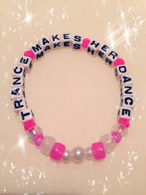 Trance Makes Her Dance kandi  Insta_Rave
