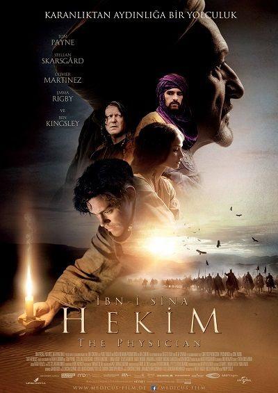 İbn-i Sina konulu HEKİM filmine ait afiş.