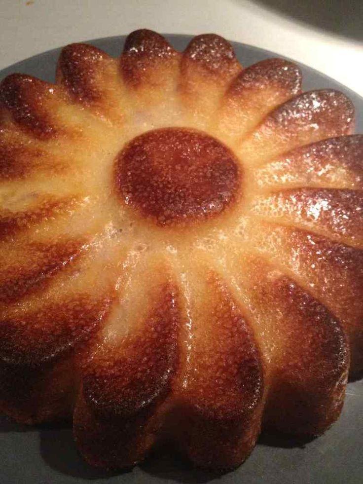 Gâteau fondant pommes bananes - Rachel et sa cuisine légère et gourmande