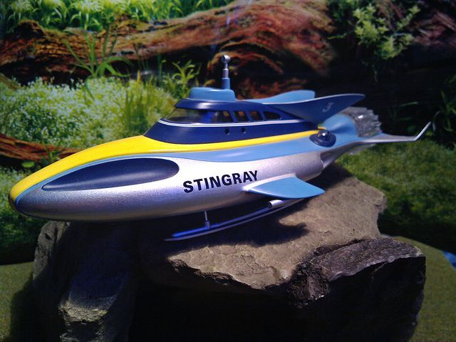 STINGRAY from Gerry Andersons TV Series. Photo by Man of Yorkshire, via Flickr