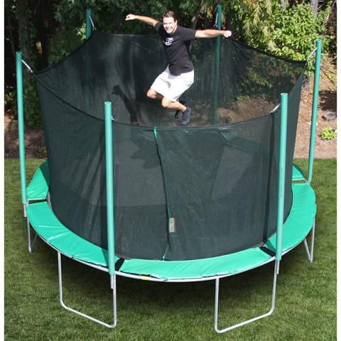 13'6 Magic Circle Octagon Trampoline with Enclosure. $1169 Shop now at yardkid.com. FREE Shipping! #trampoline