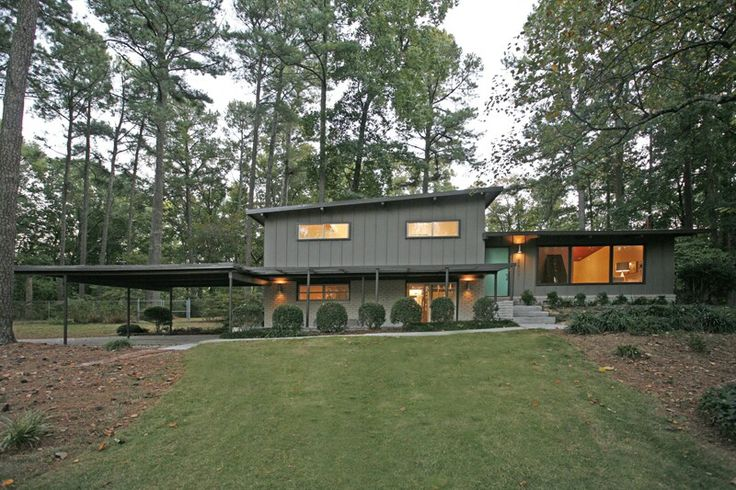 Charming mid century split level awesome homes mid century midcentury modern modern for Mid century modern exterior paint