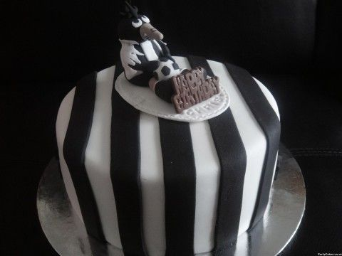 Newcastle United Birthday Cake