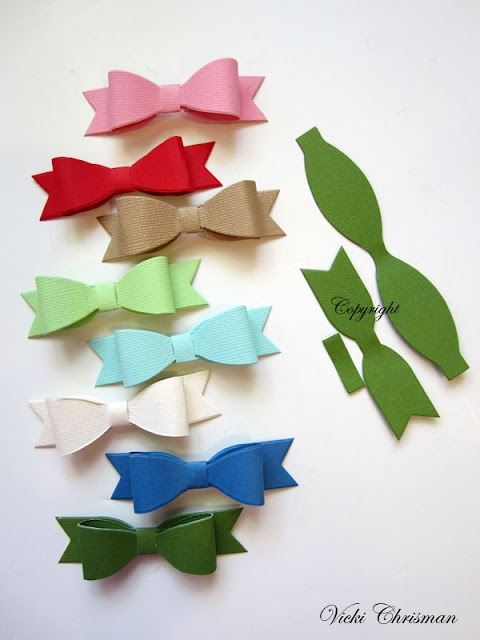 Love these bows!Christmas Cards, Boutonnier Ideas, Crafty Paper, Cards Ideas, Crafts Ideas, Paper Bows, Felt Bows, Paper Crafts, Bedrooms Ideas