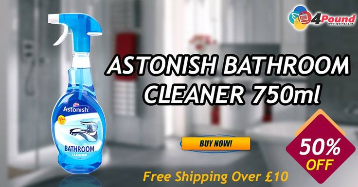 Best Cleaners Available at 4pound.co.uk.Hurry Up!!! Limited Time Offers On #Cleaners Buy Now: http://www.4pound.co.uk/astonish-bathroom-cleaner