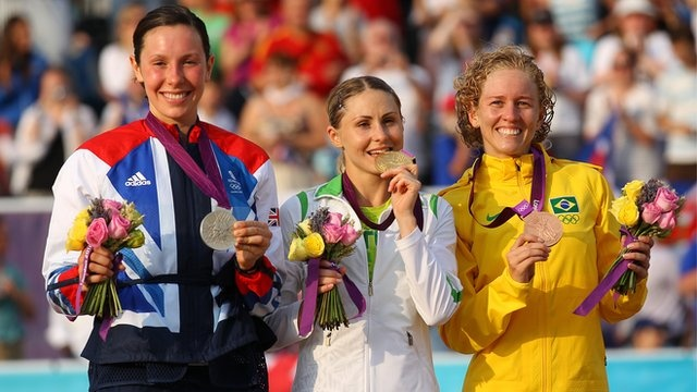 Samantha Murray won modern pentathlon silver for Great Britain in the final event of the London 2012 Olympic Games.