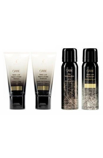 Free shipping and returns on SPACE.NK.apothecary Oribe Cult Classics Set (Nordstrom Exclusive) ($79 Value) at Nordstrom.com. What it is: A limited-edition collection of travel-sized favorites for superior hair care.Who it's for: All hair types.Set includes:- Gold Lust Repair & Restore Shampoo (1.7 oz.): a shampoo that reawakens your hair to its glossiest, healthiest prime.- Gold Lust Repair & Restore Conditioner (1.7 oz.): an ultra-hydrating conditioner that softens and revitalize...
