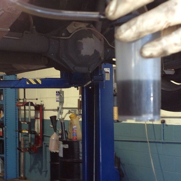 This is what bad brake fluid looks like. Polar Auto and Radiator