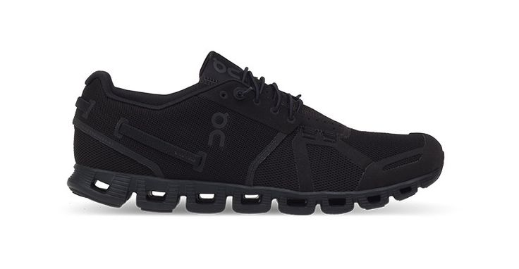 Women's On Cloud All Black Running Shoes - Color: Black/Black - Size: 6