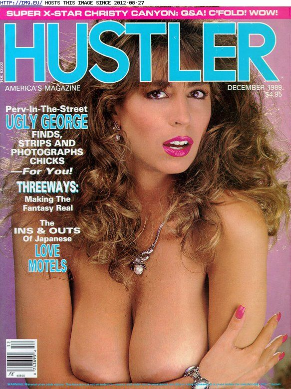 Hustler women of the 80s
