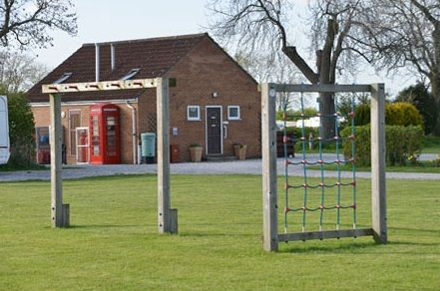 South Lea Caravan Park,  Pocklington, York, North Yorkshire, England. Camping. Campsite. Holiday. Travel. Outdoors.