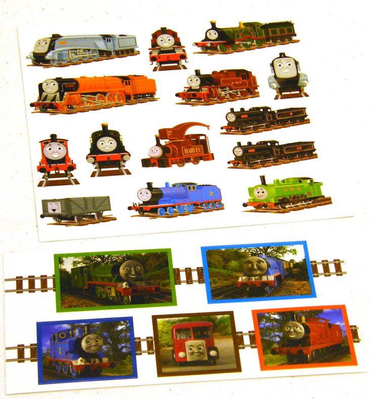 Thomas the Tank Engine Train Sticker Sheets 2 by OwlShop