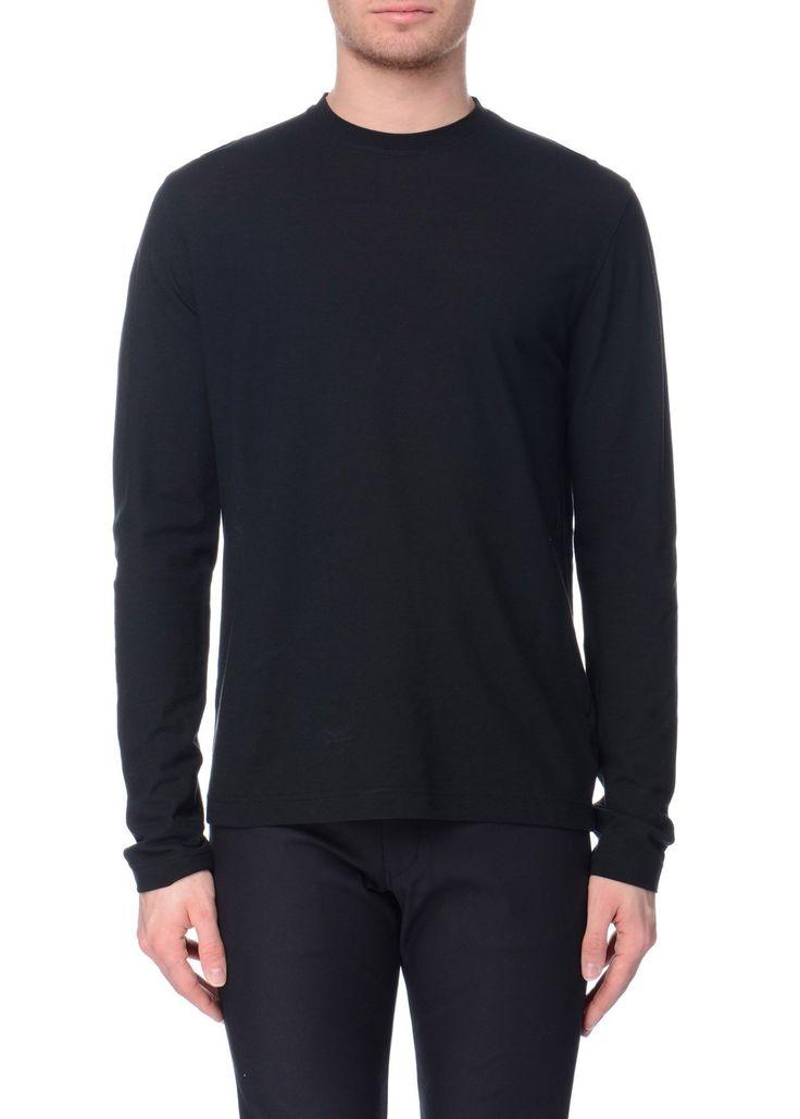 Zanone - SS17 - Menswear // Black t-shirt in cotton