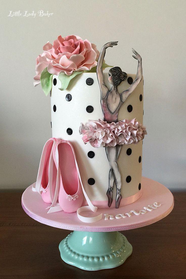 Ballerina cake                                                                                                                                                                                 More