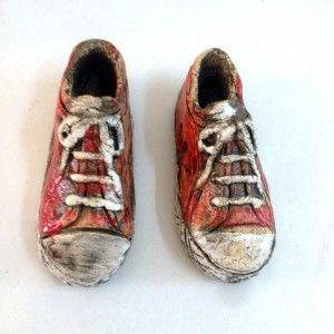 Ceramic shoes | Cretan Mementos