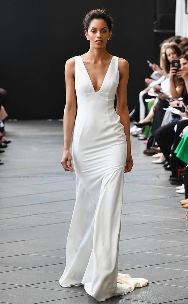 ee2efa1e6e2f Amsale Tribute from Best Looks From Bridal Fashion Week Spring 2019 | E!  News