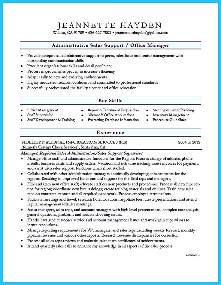 17 beste ideeën over Administrative Assistant Job Description op - sample executive administrative assistant resume