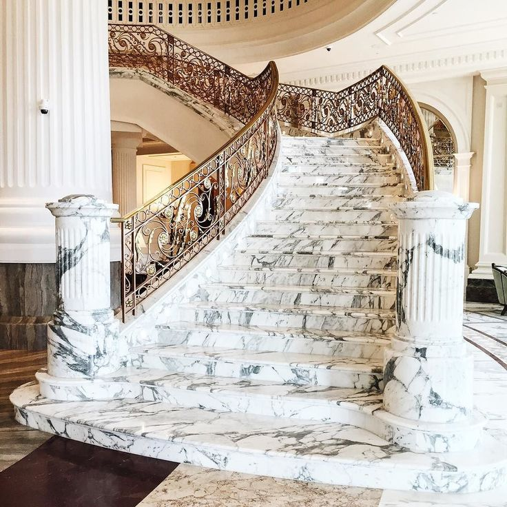 Marble heaven at The St. Regis.  #FabulousInDubai by reemkanj http://ift.tt/1TbgYH5