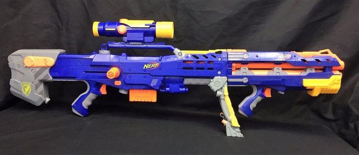 Nerf N-Strike Longshot CS-6 Elite Dart Gun Scope Barrel Extension Tested Working | Toys & Hobbies, Outdoor Toys & Structures, Dart Guns & Soft Darts | eBay!