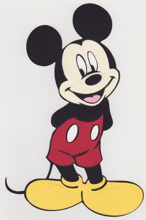 Disney Cricut Cartridge It S All In The Details Mickey