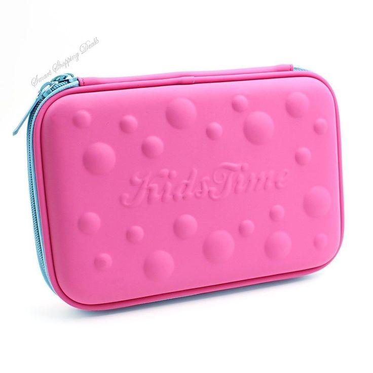 School Pencil Case For Girls Organizer Pencils Student Pen Bag Pink Pens Box  #SchoolPencilCase