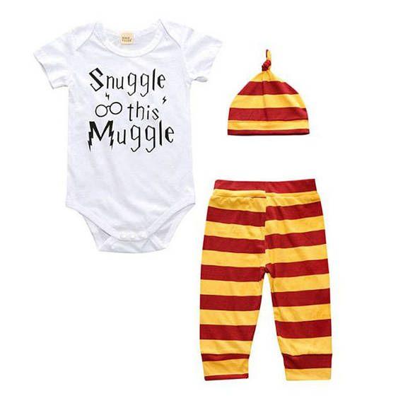 Harry Potter Snuggle this muggle Baby Set