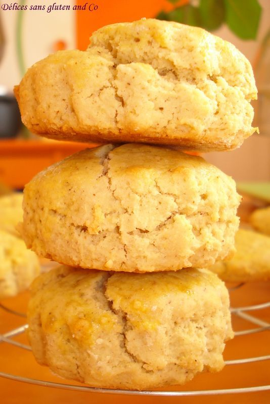 Tea time : Des scones sans gluten et sans lait                                                                                                                                                                                 Plus