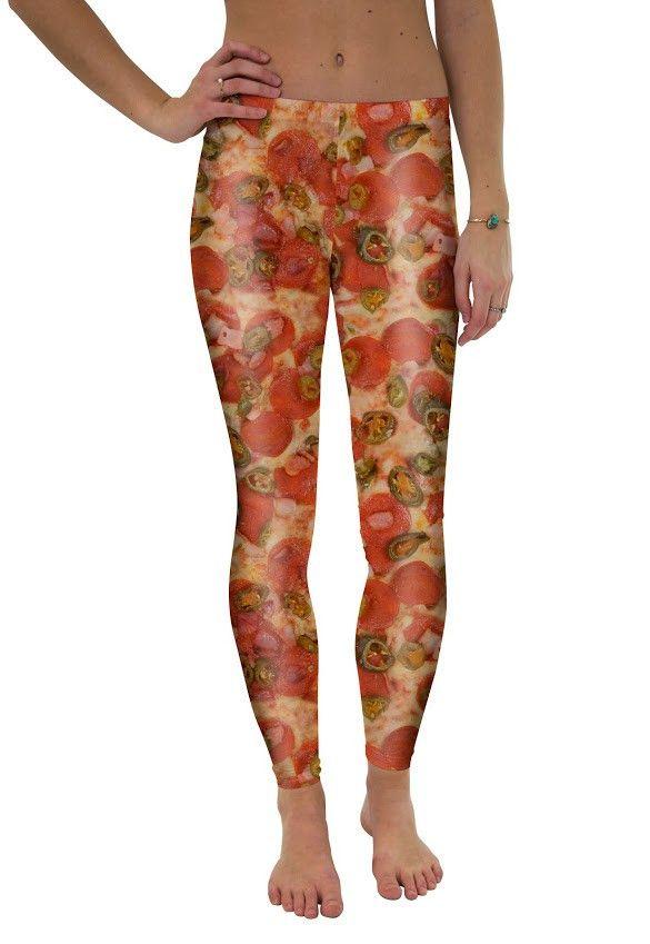 Jalapeno Pep Pizza Leggings