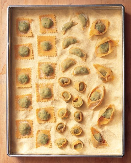 Cheese Tortelloni Recipe | Cooking | How To | Martha Stewart Recipes