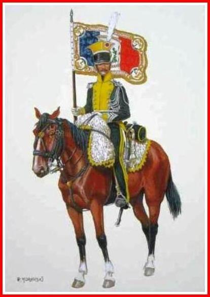 Lanciers - Porte aigle