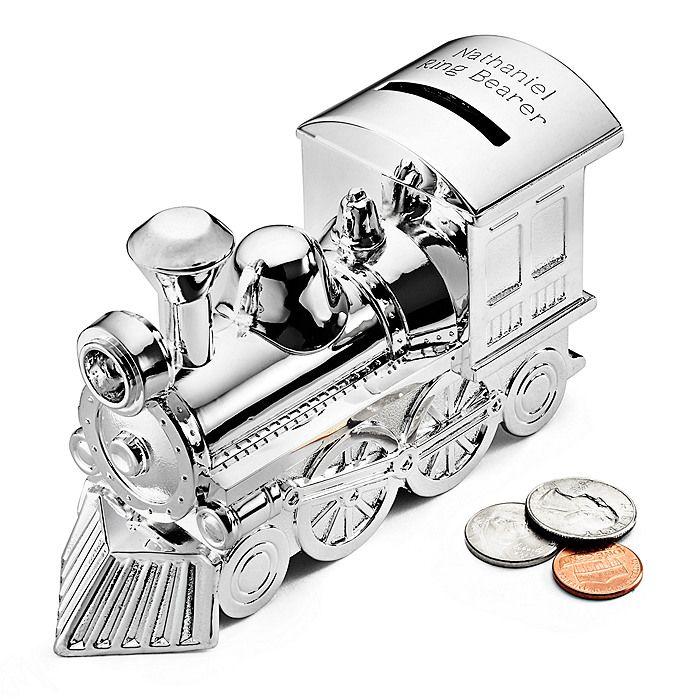Parker (Ring Bearer) Train Bank gift?