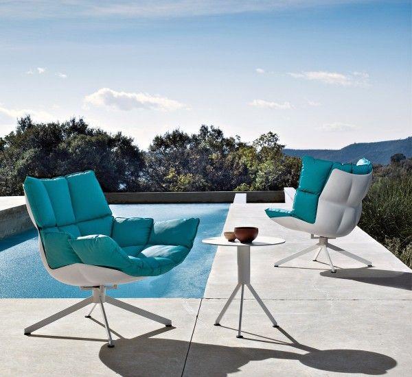 Bu0026B Italia :: Husk Outdoor Armchairs By Designer Patricia Urquiola