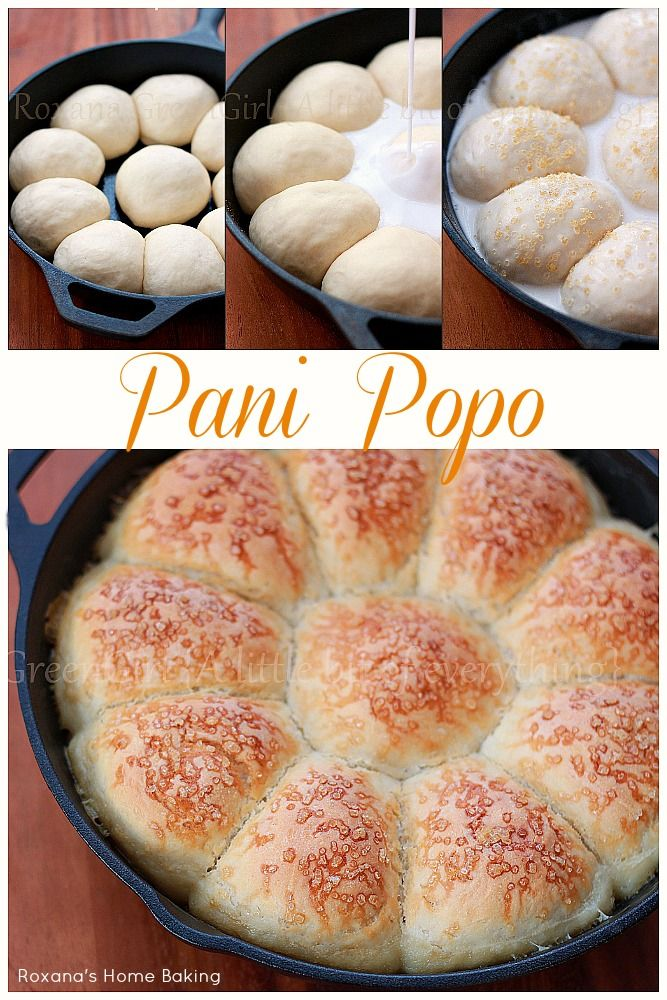 Homemade pani popo - sweet, soft buns bathed and baked in coconut milk