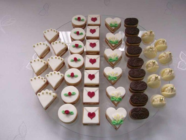 Svatební cukroví , Svatební dorty | Dorty od mamy