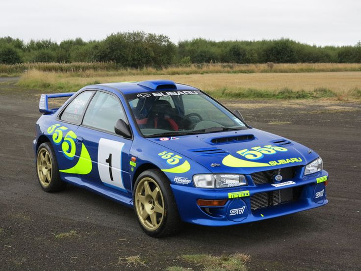 As far as historic rally cars go, Subaru Impreza WRC97001 is one of the most important ever made'