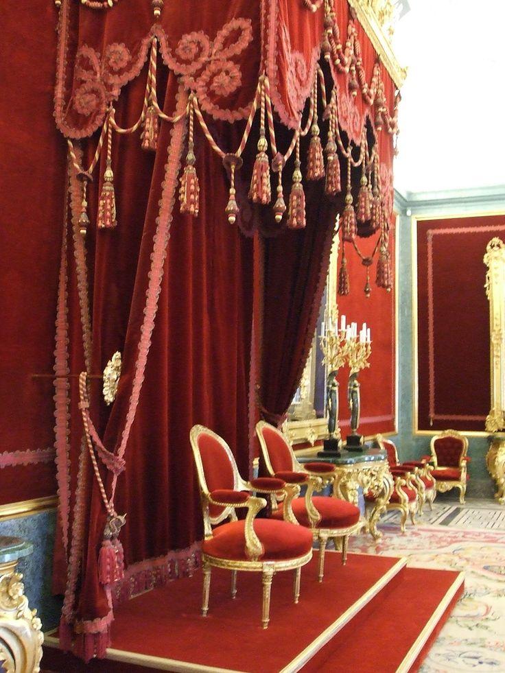 Throne Room, Palacio Real de Aranjuez, Spain