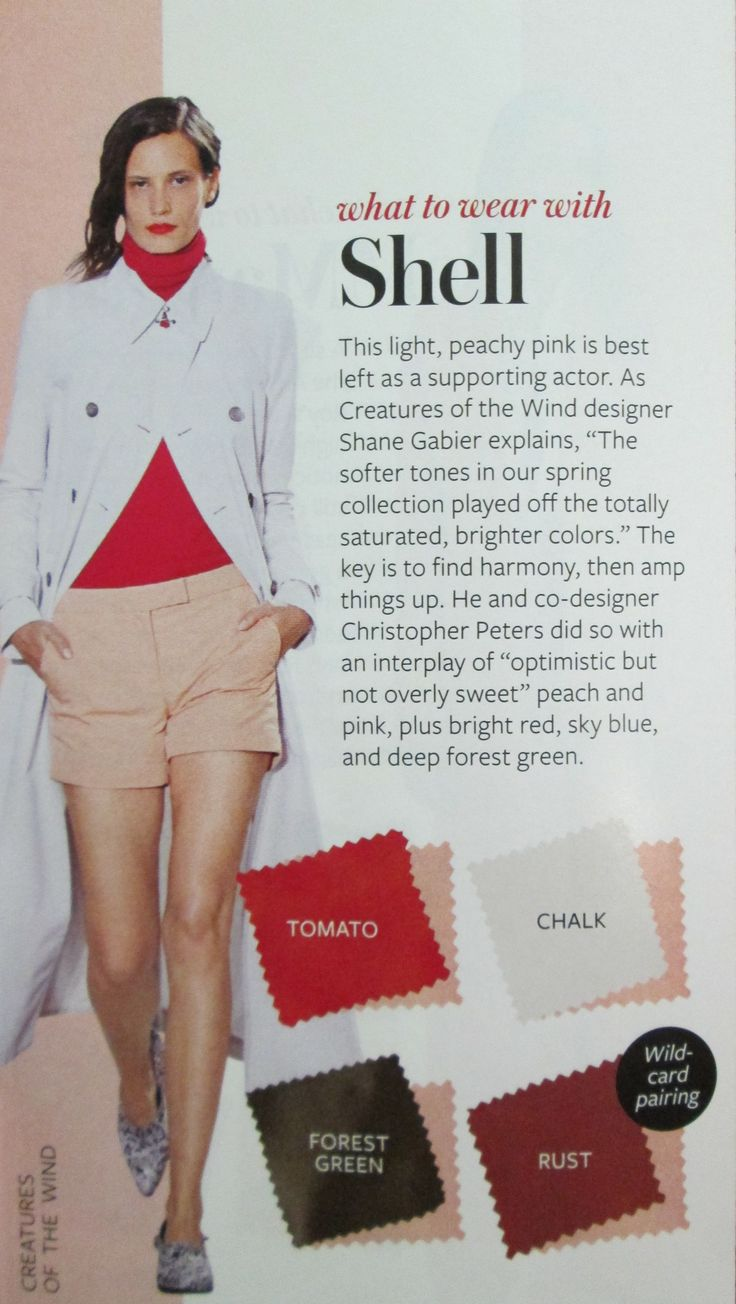 Instyle Color Crash Course - Shell