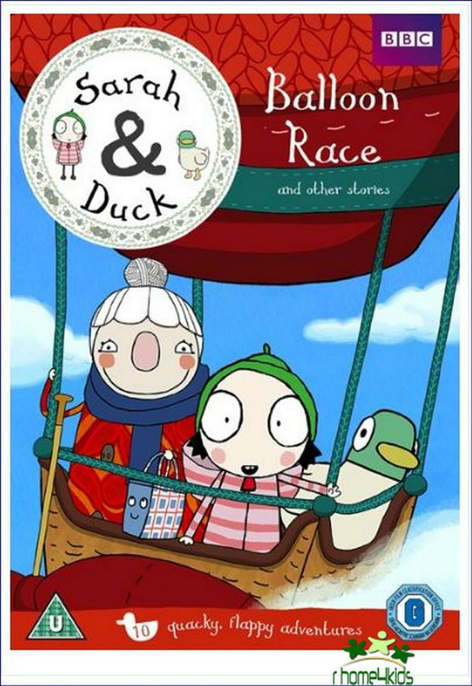 Kids New Great Family Movie Sarah And Duck Balloon Race Other Stories DVD