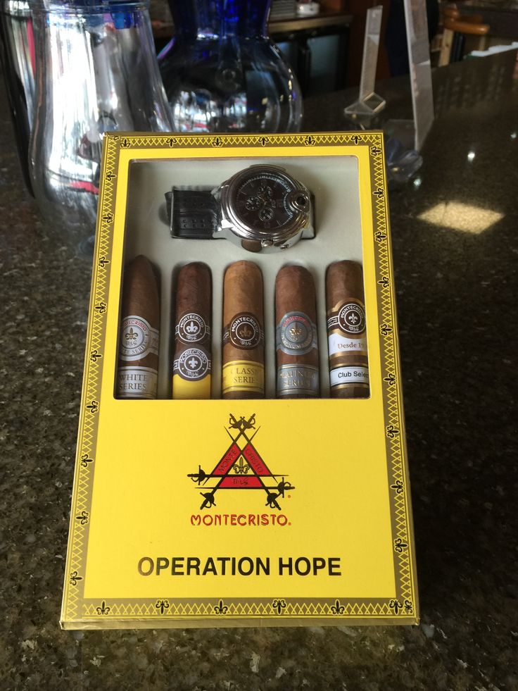 Fathers Day around the corner Pick up your Montecristo Cigars Fathers Day…